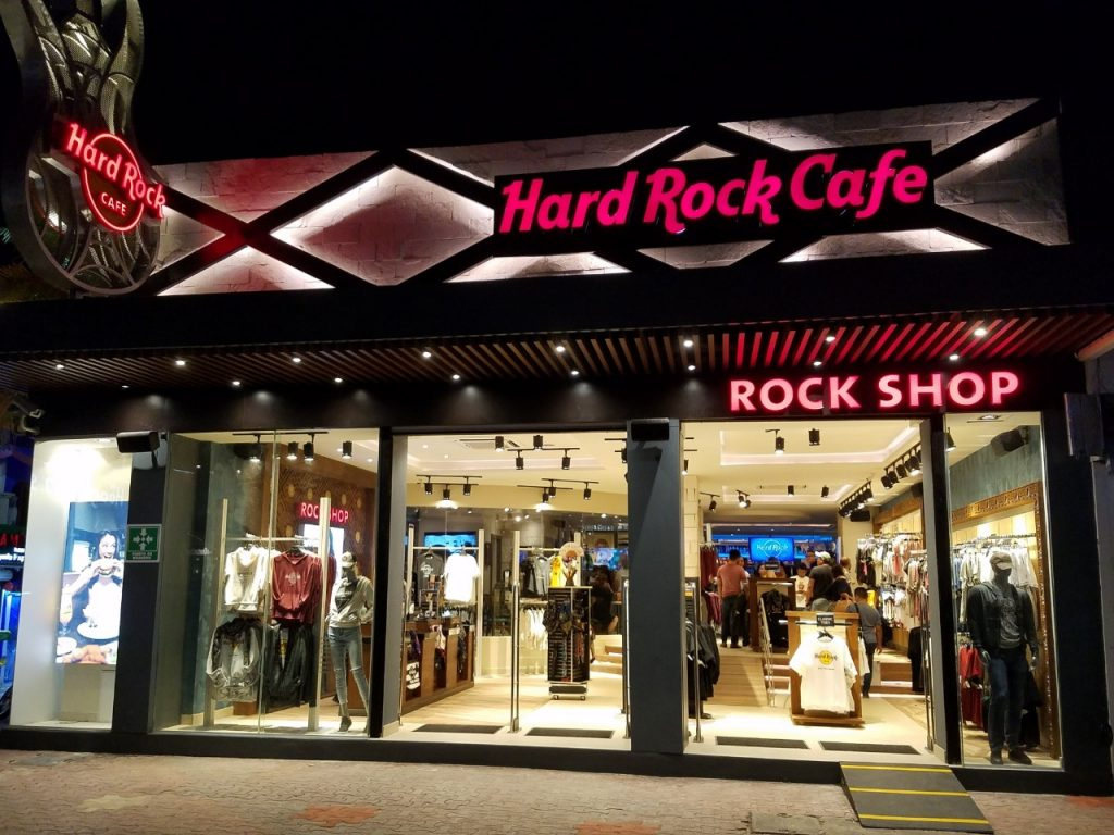 Fachada Rock Shop